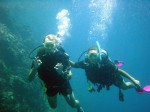 Discover Scuba Diving; Pim and Danielle 2002