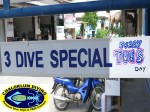 Chaloklum Diving offer a 3 Pinnacles Dive Trip on Tuesdays