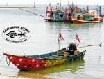 Cool Longtail boat at Chaloklum Diving School, Ko Phangan