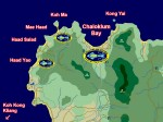 Koh Phangan local dive sites map