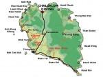Koh Phangan map