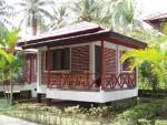 Air-con bungalow at Rose Villa, Chaloklum Village, Koh Phangan